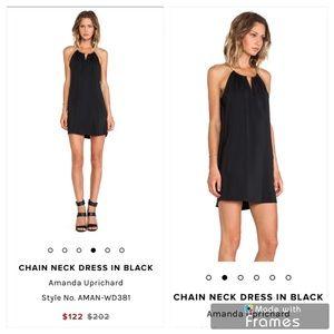 Amanda Uprichard Chain Neck Dress